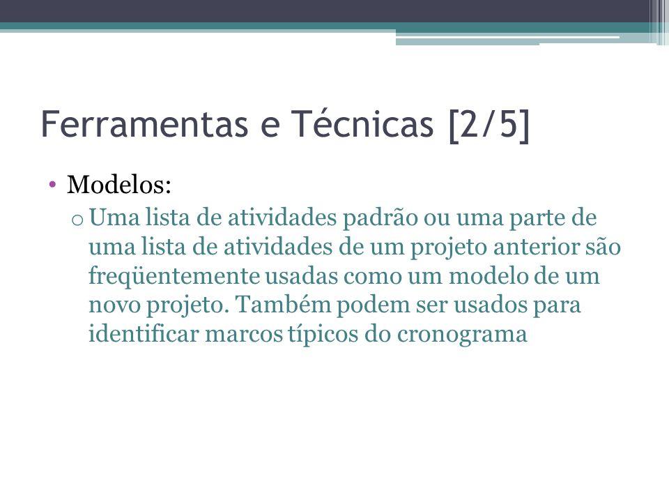 Ferramentas e Técnicas [2/5]
